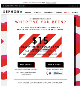 sephora customer journey example
